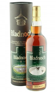 Bladnoch 11 Year Old, Sherry Matured Sheep Label with Tube